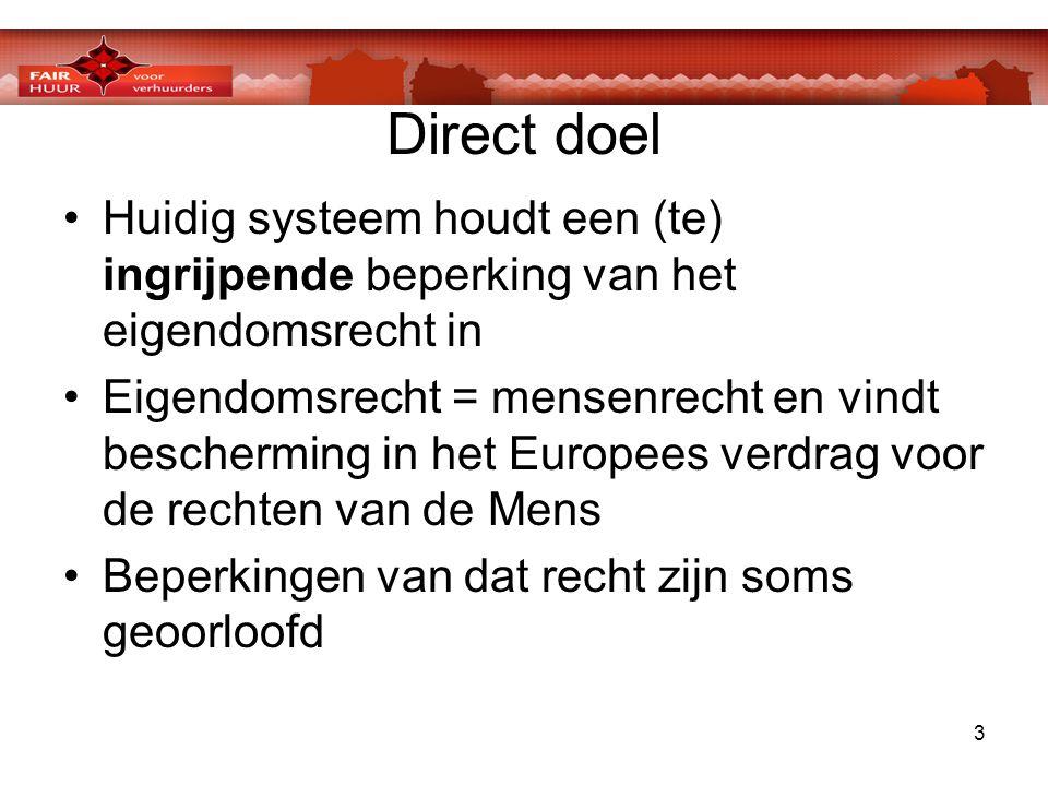 4 Direct doel •Stichting heeft adviezen ingewonnen van o.a.