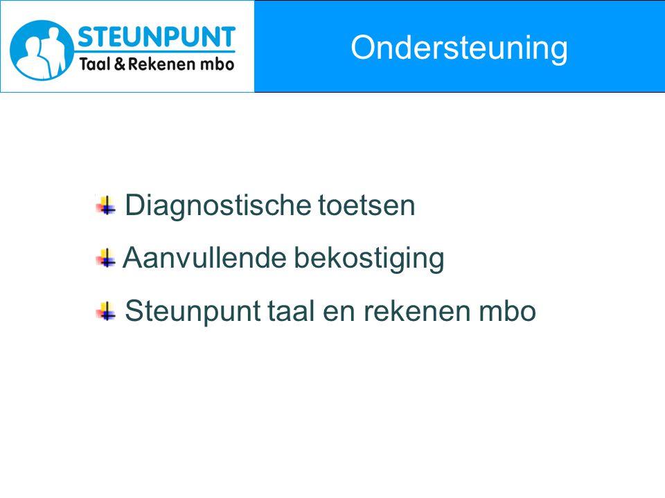 Aanvullende bekostiging Regeling ' Intensivering Nederlandse taal en rekenen mbo' 2010 – 2013 jaarlijks ten minste € 50 mln.