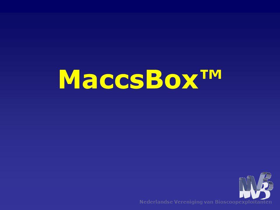 Nederlandse Vereniging van Bioscoopexploitanten MaccsBox™