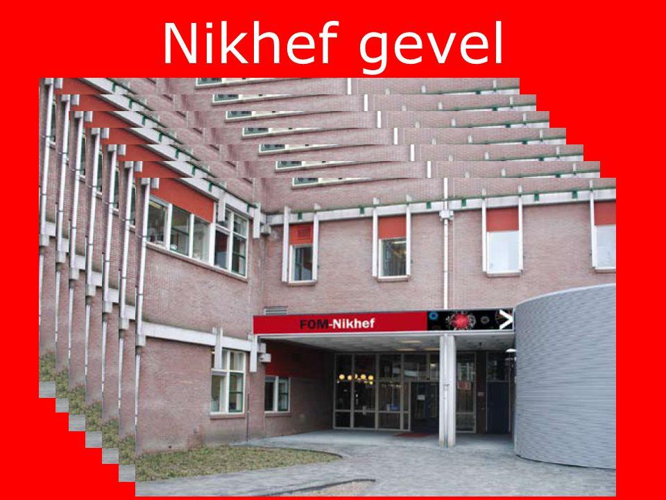 Nikhef gevel