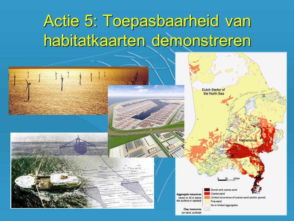 Actie 5: Toepasbaarheid van habitatkaarten demonstreren www.hornsrev.dk