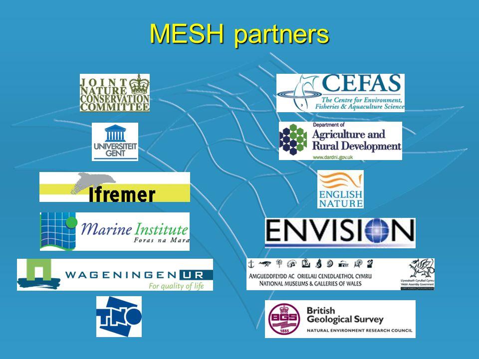 •MESH is een internationaal marien karteerprogramma.
