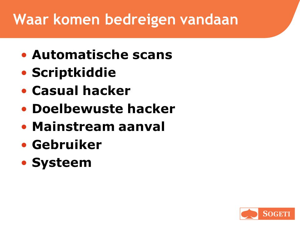 3. XSS - aanval Kwaadaardige zoekterm: document.write( );