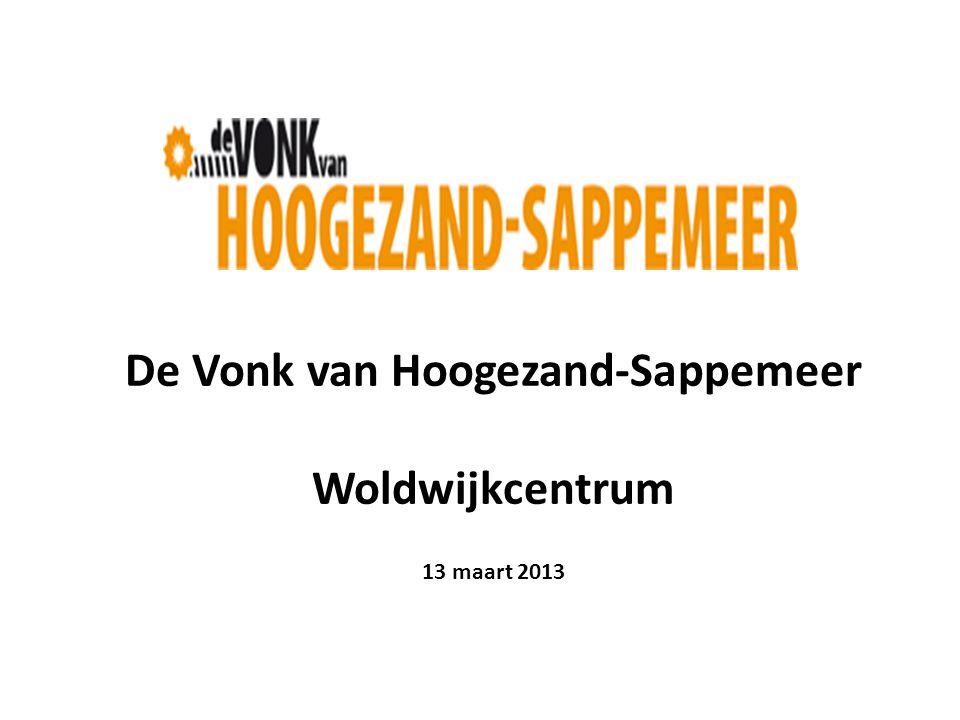 De Vonk van Hoogezand-Sappemeer Woldwijkcentrum 13 maart 2013