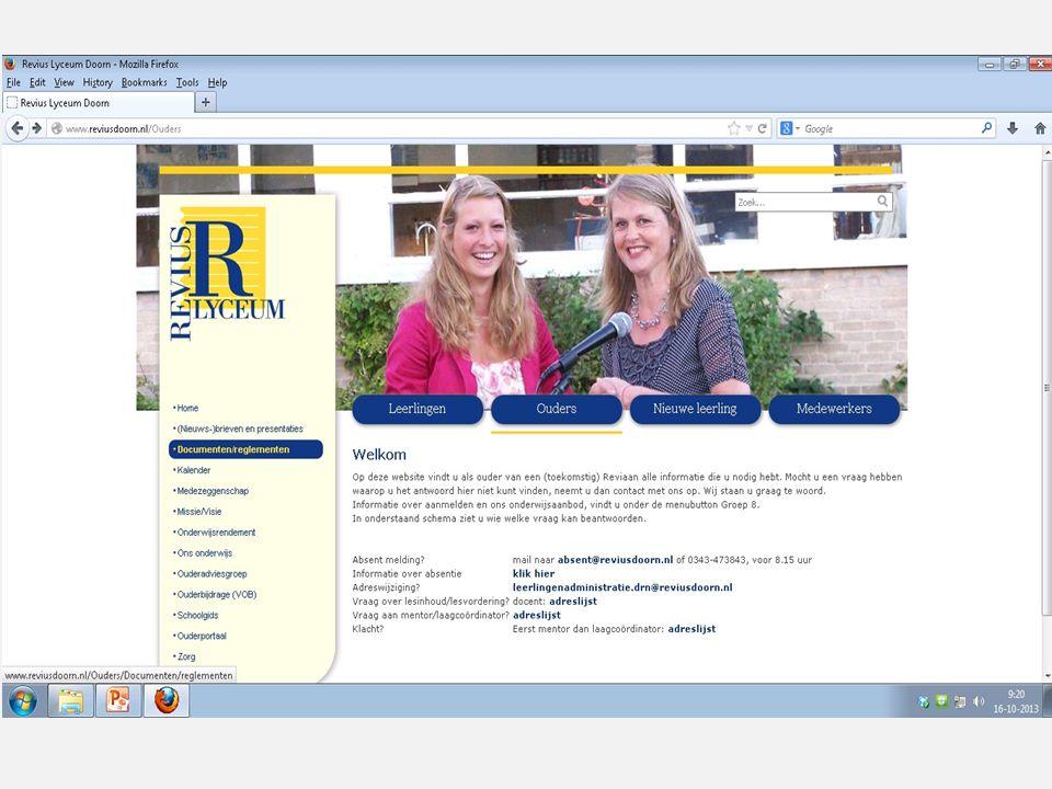 Belangrijk om te weten  Loesje – boekje  Meegegeven aan de leerlingen (en op de website)  Schoolgids  Op de website  Overgangsnormen  Op de webs