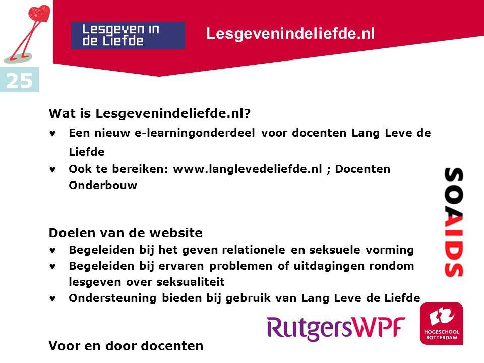 Lesgevenindeliefde.nl Wat is Lesgevenindeliefde.nl.