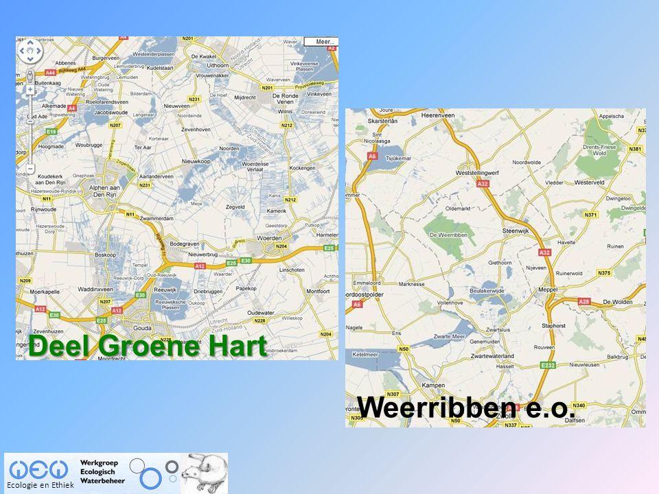 Deel Groene Hart Weerribben e.o. Ecologie en Ethiek