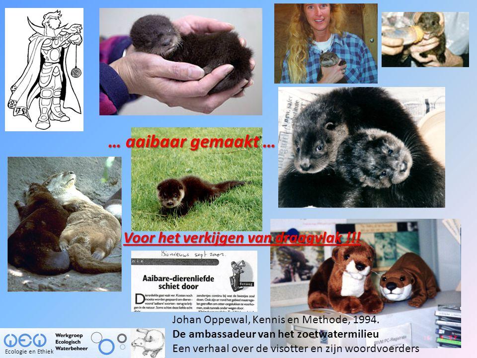 Herintroductie Otter 8 juli 2002  meerval Rollin Verlinde Ecologie en Ethiek