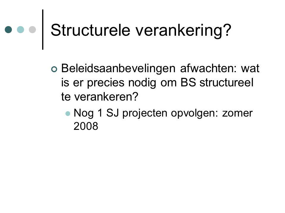 Structurele verankering.