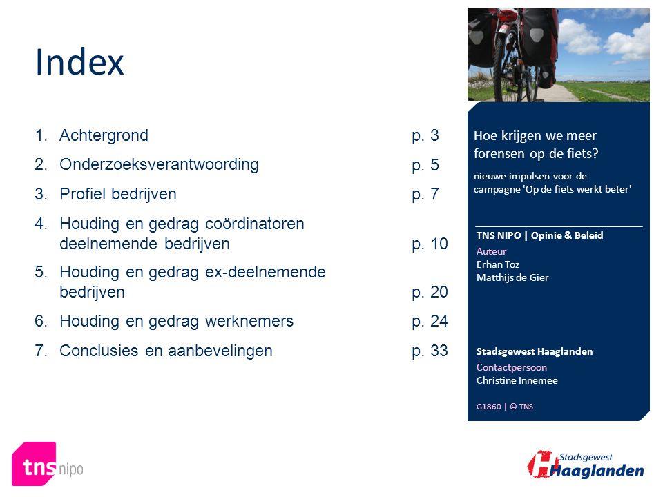 Index Hoe krijgen we meer forensen op de fiets.