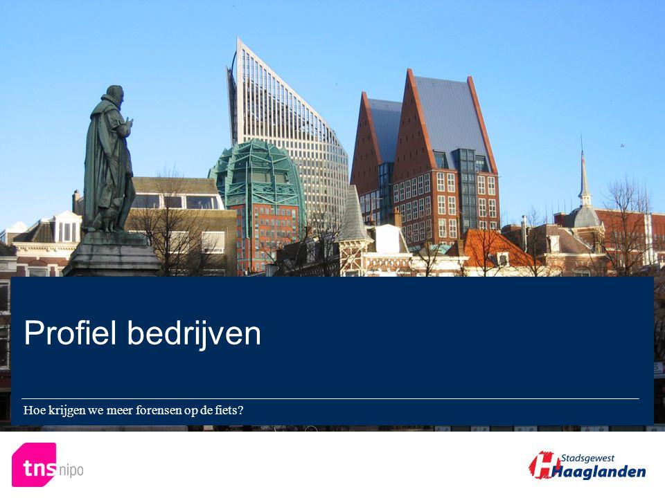 Hoe krijgen we meer forensen op de fiets Profiel bedrijven