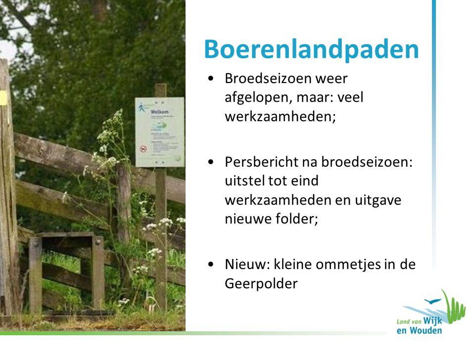 •Route wordt actief bereden, •Uitdaging: beheer door alle betrokkenen •September 2012: pad aangelegd door Leidschendammerhout •Momenteel: mogelijkheden bespreken voor brug in Leidschendam ATB-route