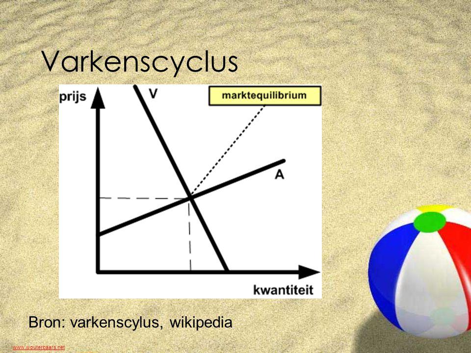 www.wouterbaars.net Varkenscyclus Bron: varkenscylus, wikipedia