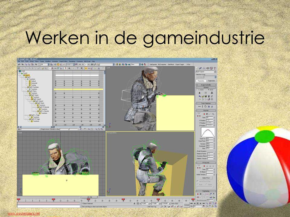 www.wouterbaars.net Werken in de gameindustrie