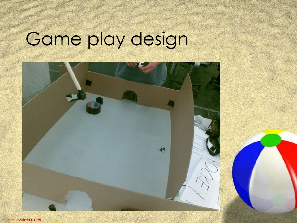 www.wouterbaars.net Game play design