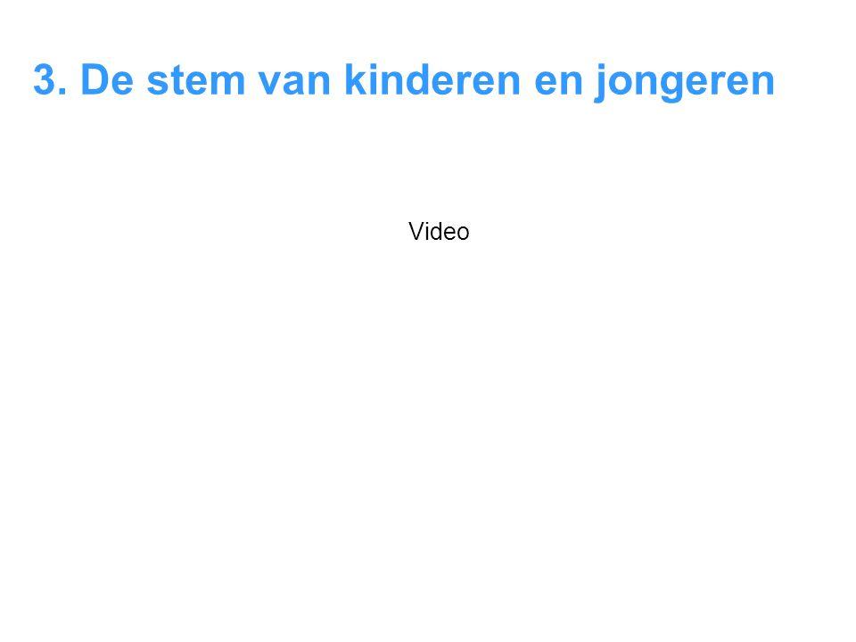 3. De stem van kinderen en jongeren Video