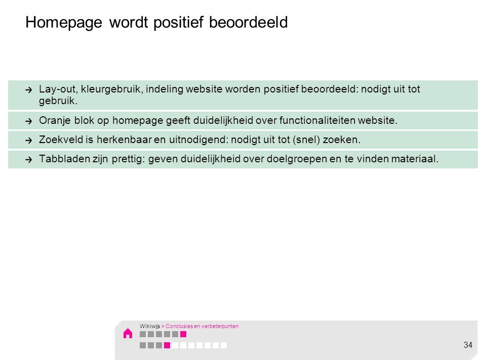 Lay-out, kleurgebruik, indeling website worden positief beoordeeld: nodigt uit tot gebruik.