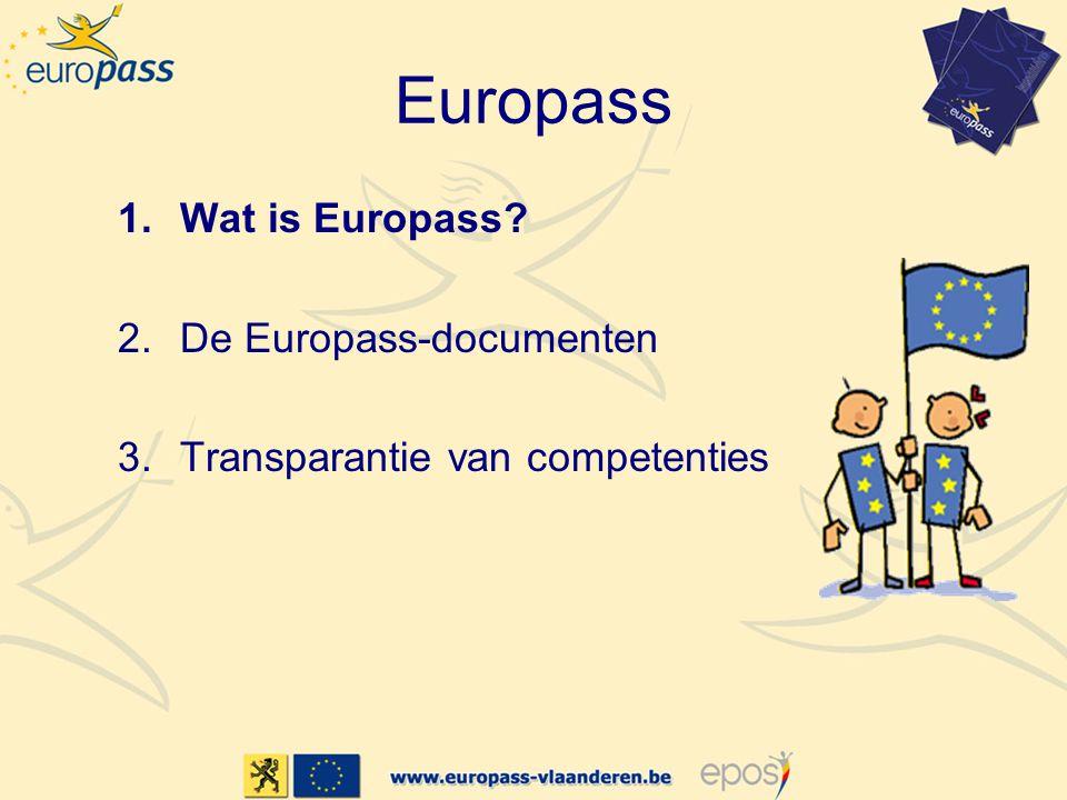 1.Wat is Europass.