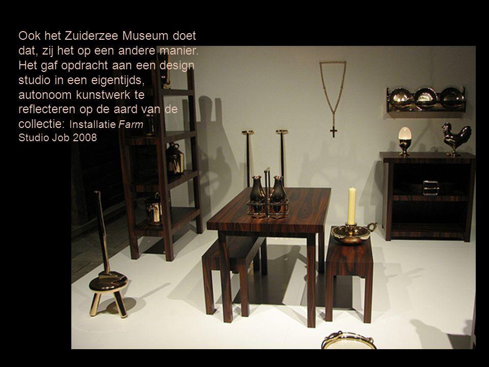 Ook het Zuiderzee Museum doet dat, zij het op een andere manier.