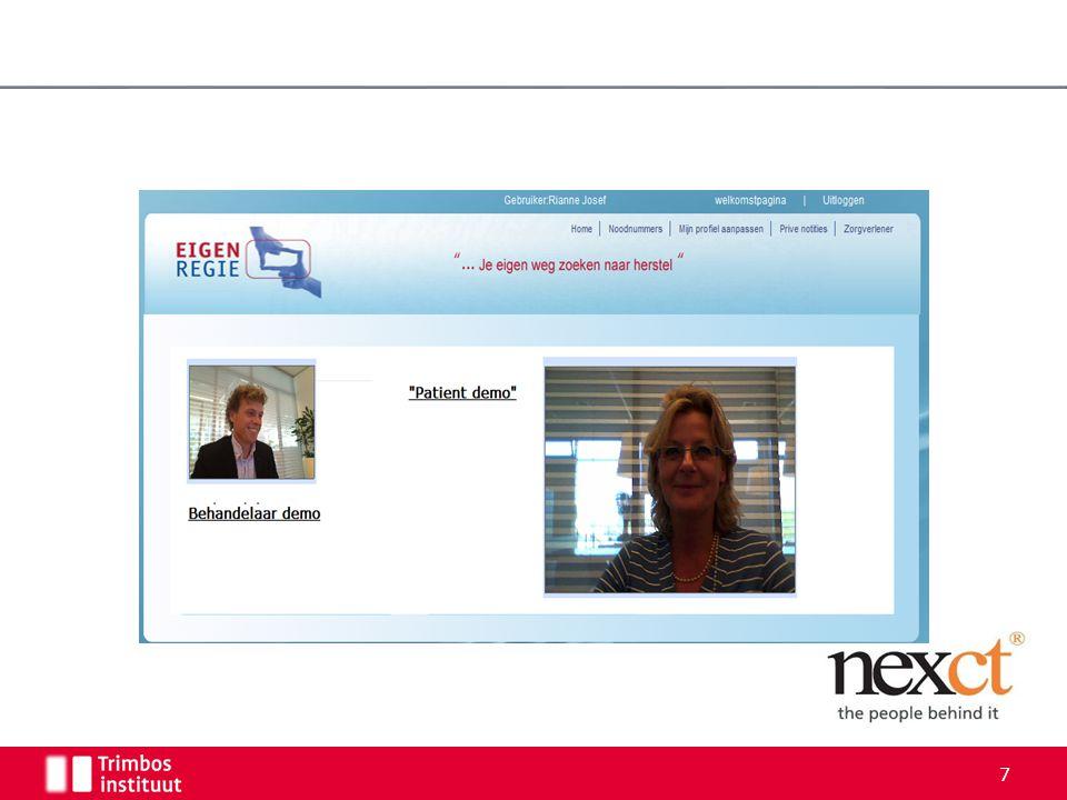 Contact Kijk voor meer informatie op de website: www.eigen-regie.nl E-mail psplunteren@trimbos.nl 18