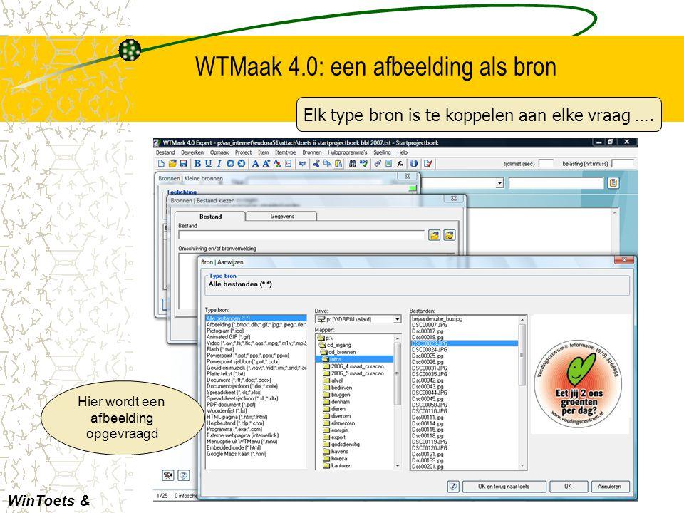 WTMaak 4.0: embedded bron Elk type online bron is inpasbaar WinToets & consumptief Wat te denken van een YouTube-filmpje?