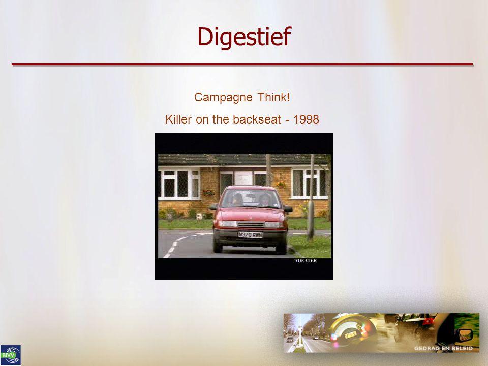 Digestief Campagne Irresponsable(s)au volant, responsable(s) pour la vie Politie Namen - 2006