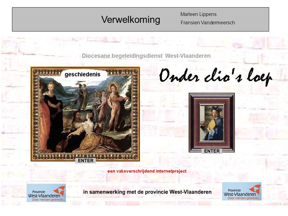 Verwelkoming Marleen Lippens Fransien Vandermeersch