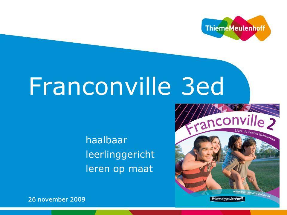26 november 2009 Franconville 3ed haalbaar leerlinggericht leren op maat