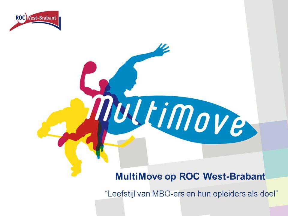 """MultiMove op ROC West-Brabant """"Leefstijl van MBO-ers en hun opleiders als doel"""""""