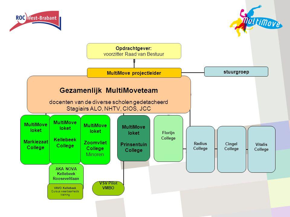 Screenshots MultiMove website
