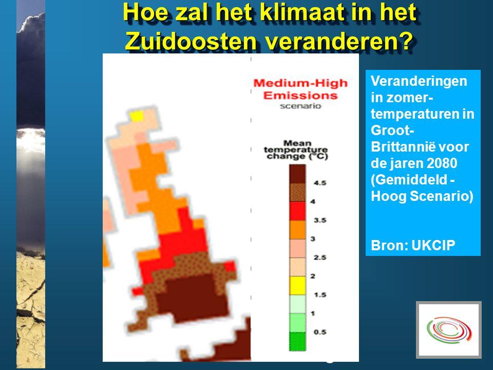 www.climatesoutheast.org.uk Hoe zal het klimaat in het Zuidoosten veranderen.