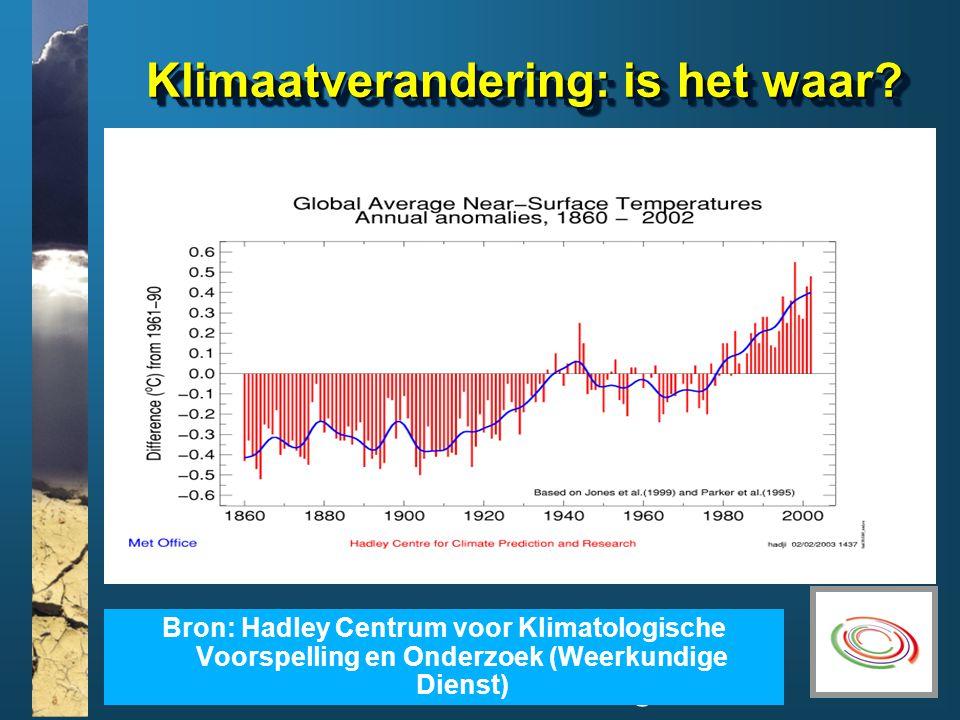 www.climatesoutheast.org.uk Klimaatverandering: is het waar.