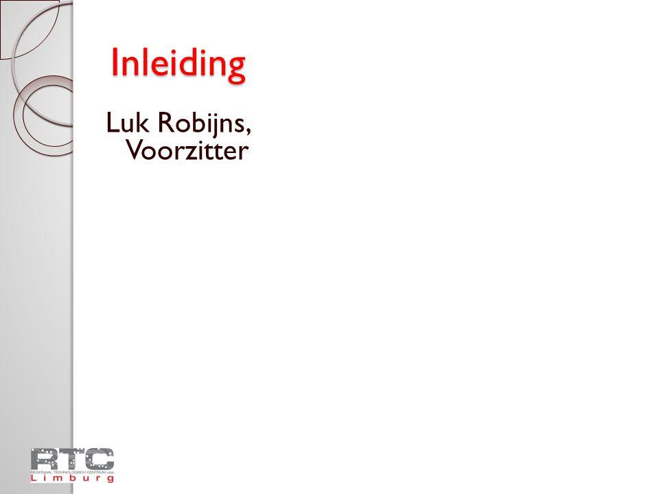 Nieuw aanbod RTC Limburg Schooljaar 2009-2010  Werking  Infofiches: per studiegebied  NIEUW: ◦ Werkplekleren ◦ Uitbreiding uitleendienst ◦ Uitbreiding aanbod 72-urenopleiding  Praktisch
