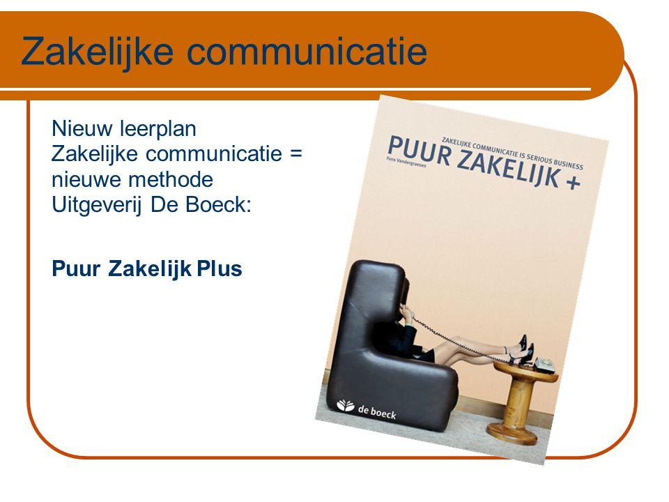 Puur Zakelijk + Fons Vandergraesen  Doelgroep  Inhoud  Opbouw  Methodiek  Concept  Interesse?