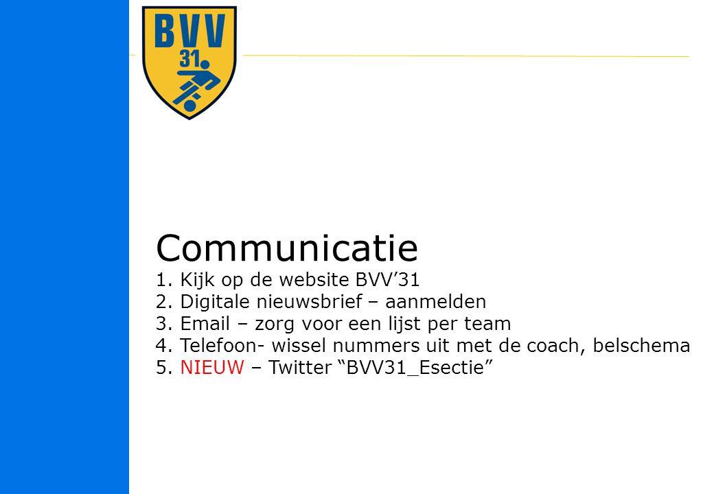26 © 2010 Communicatie 1.Kijk op de website BVV'31 2.