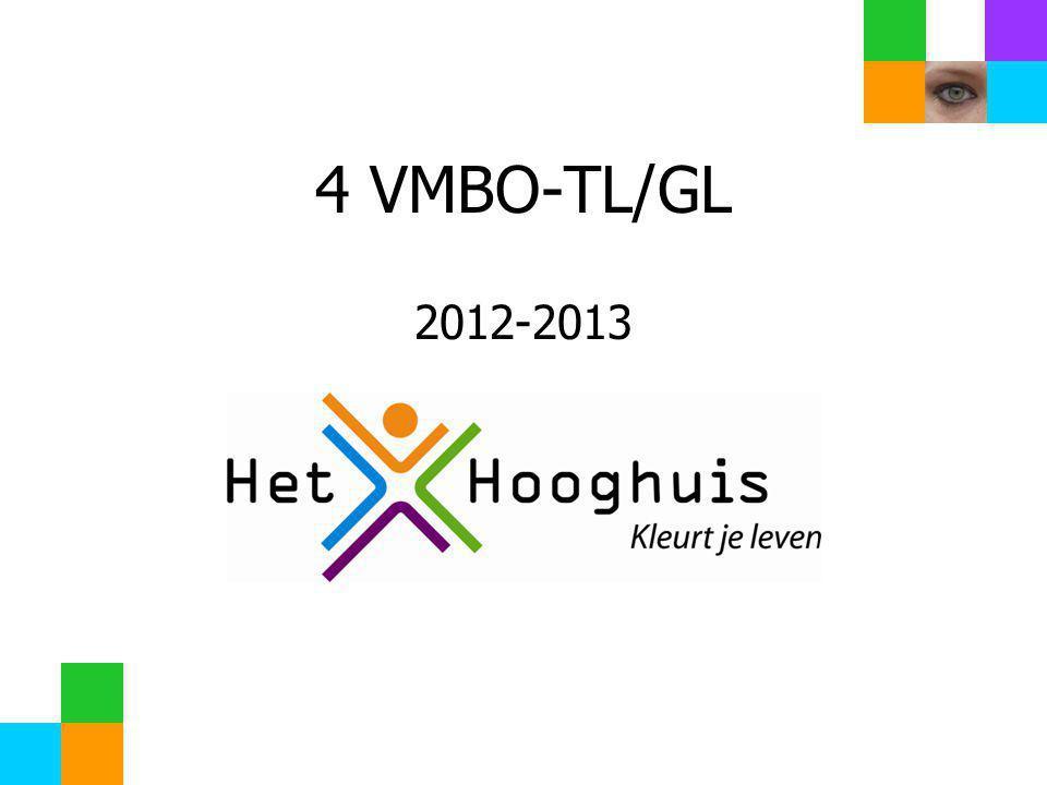 4 VMBO-TL/GL 2012-2013