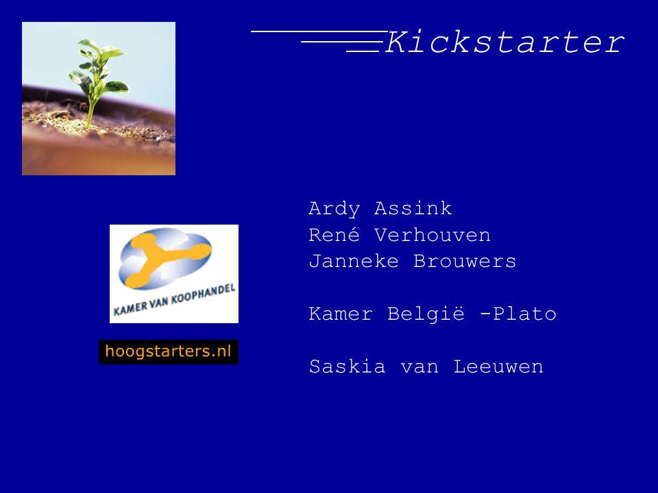 Kickstarter Ardy Assink René Verhouven Janneke Brouwers Kamer België -Plato Saskia van Leeuwen