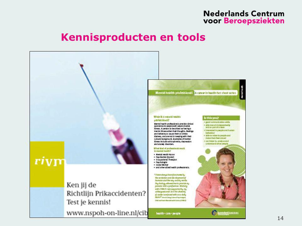 14 Kennisproducten en tools