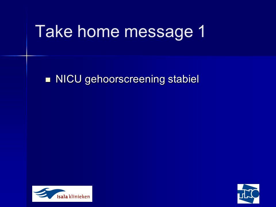 NICU gehoorscreening: apparatuur Is MB11 een alternatief ?