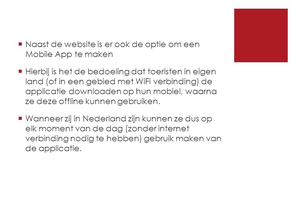  Deze applicatie voorziet de toeristen van informatie die betrekking heeft op de uitgaansgelegenheden van Rotterdam.