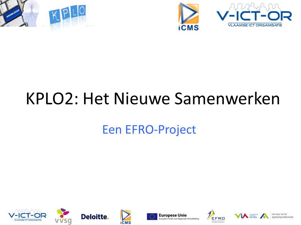 KPLO2: Het Nieuwe Samenwerken Een EFRO-Project