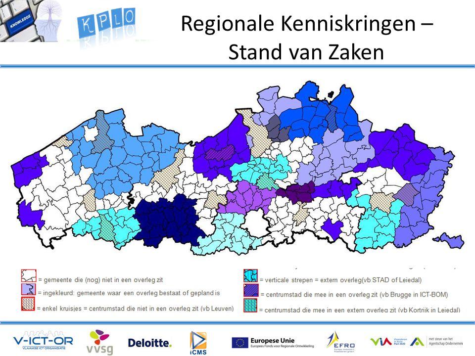 Regionale Kenniskringen – Stand van Zaken