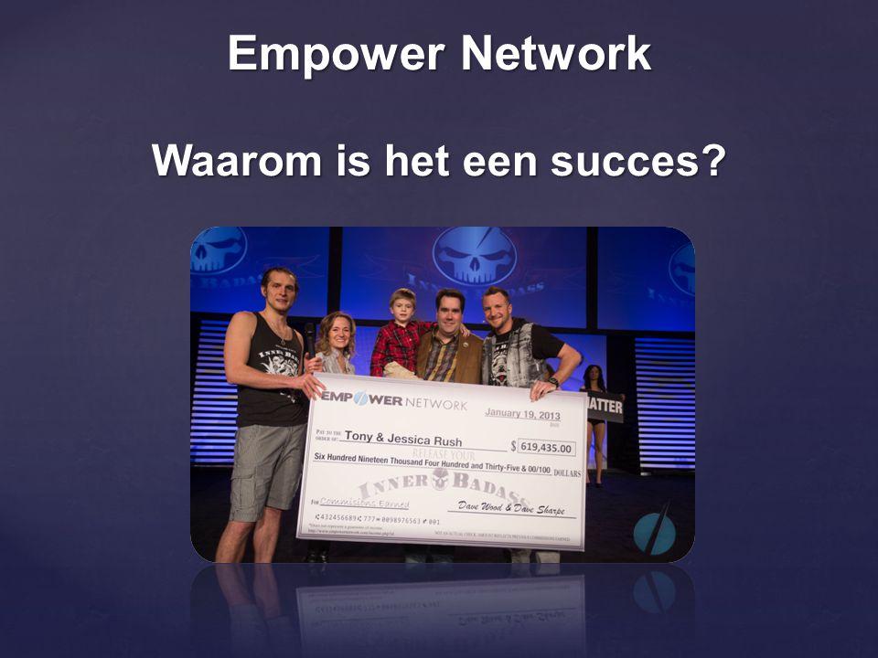 Empower Network Waarom is het een succes?
