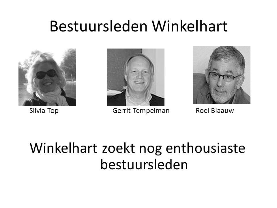 Bestuursleden Winkelhart Silvia TopGerrit Tempelman Roel Blaauw Winkelhart zoekt nog enthousiaste bestuursleden