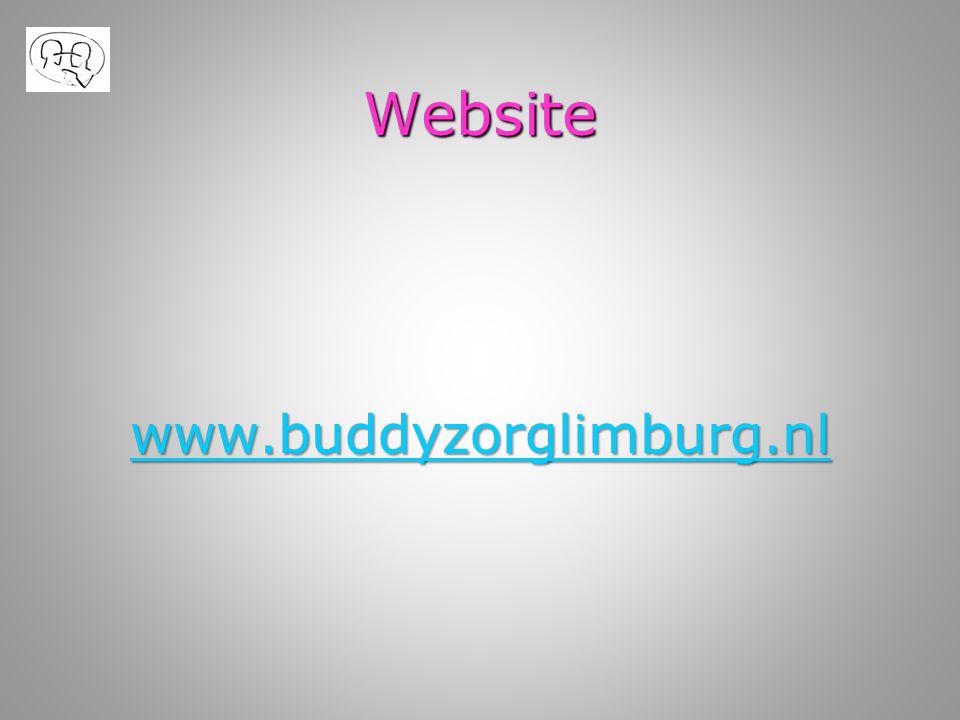 Website www.buddyzorglimburg.nl