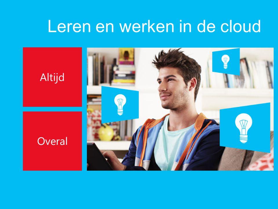 Leren en werken in de cloud Altijd Overal