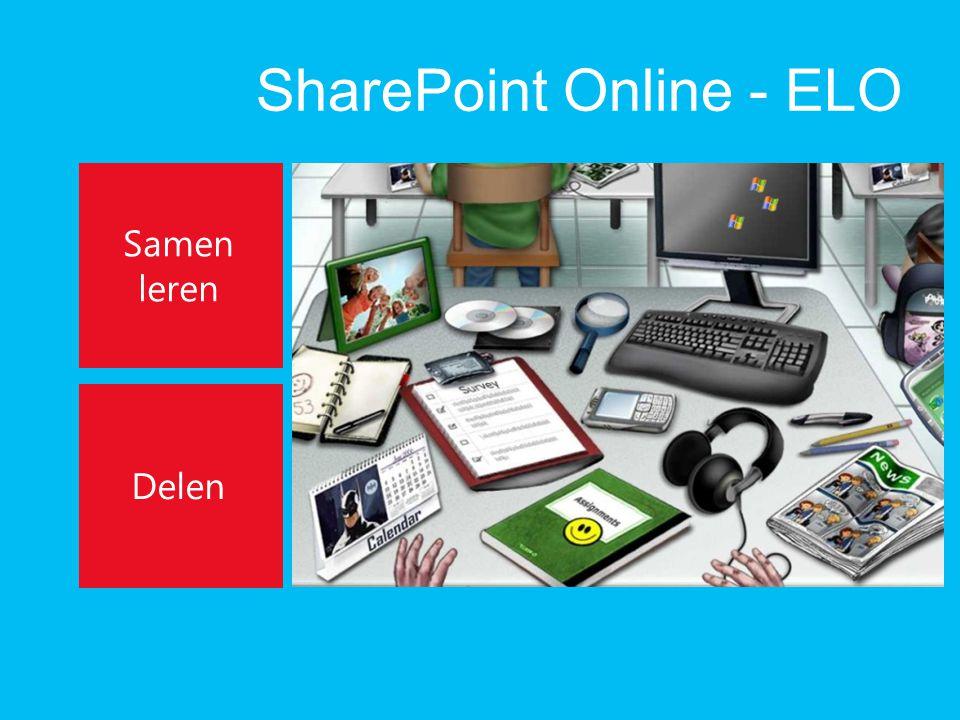SharePoint Online - ELO Samen leren Delen