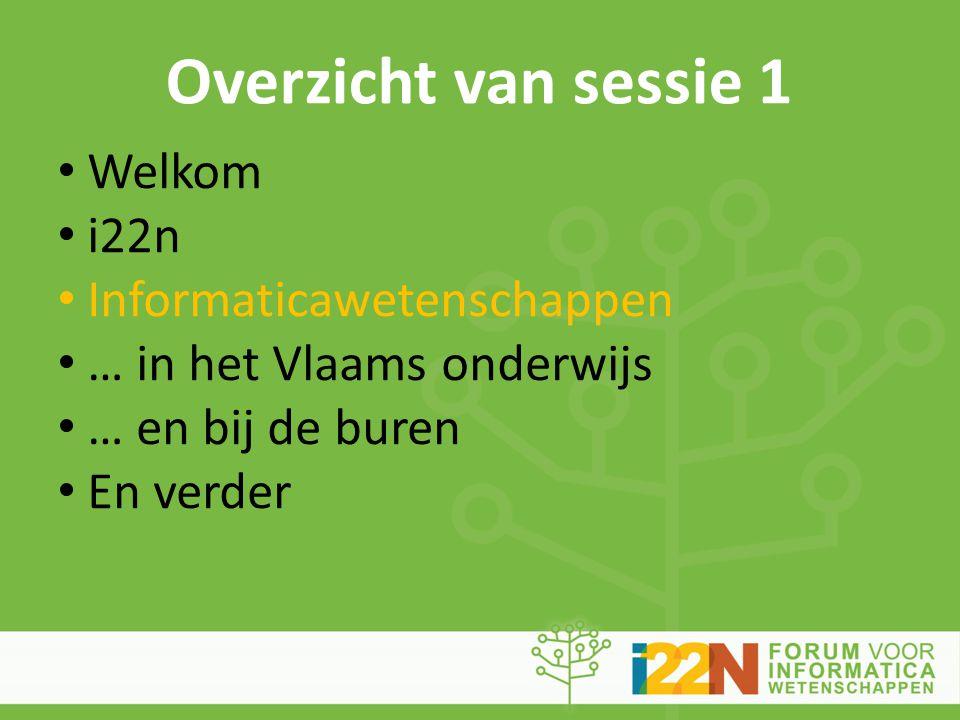 Informaticawetenschappen in het Vlaams onderwijs nu (4) • Derde graad S.O.