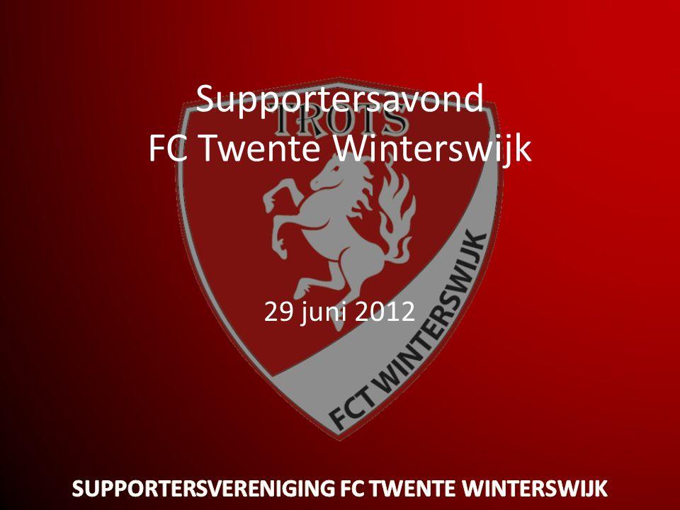 Supportersavond FC Twente Winterswijk 29 juni 2012