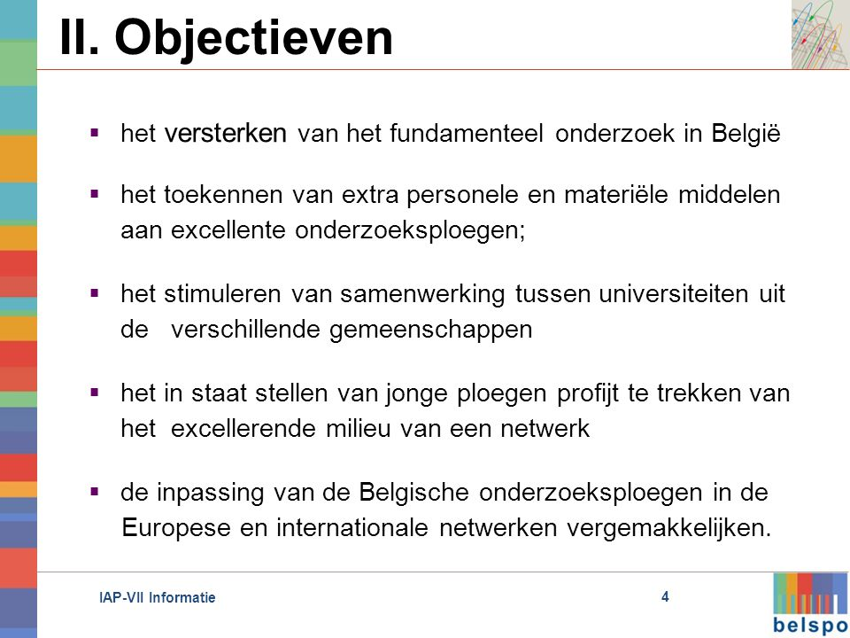 IAP-VII Informatie II.
